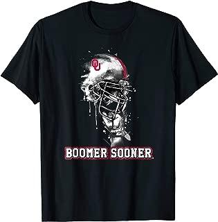 Oklahoma Sooners Rising Helmet T-Shirt - Apparel