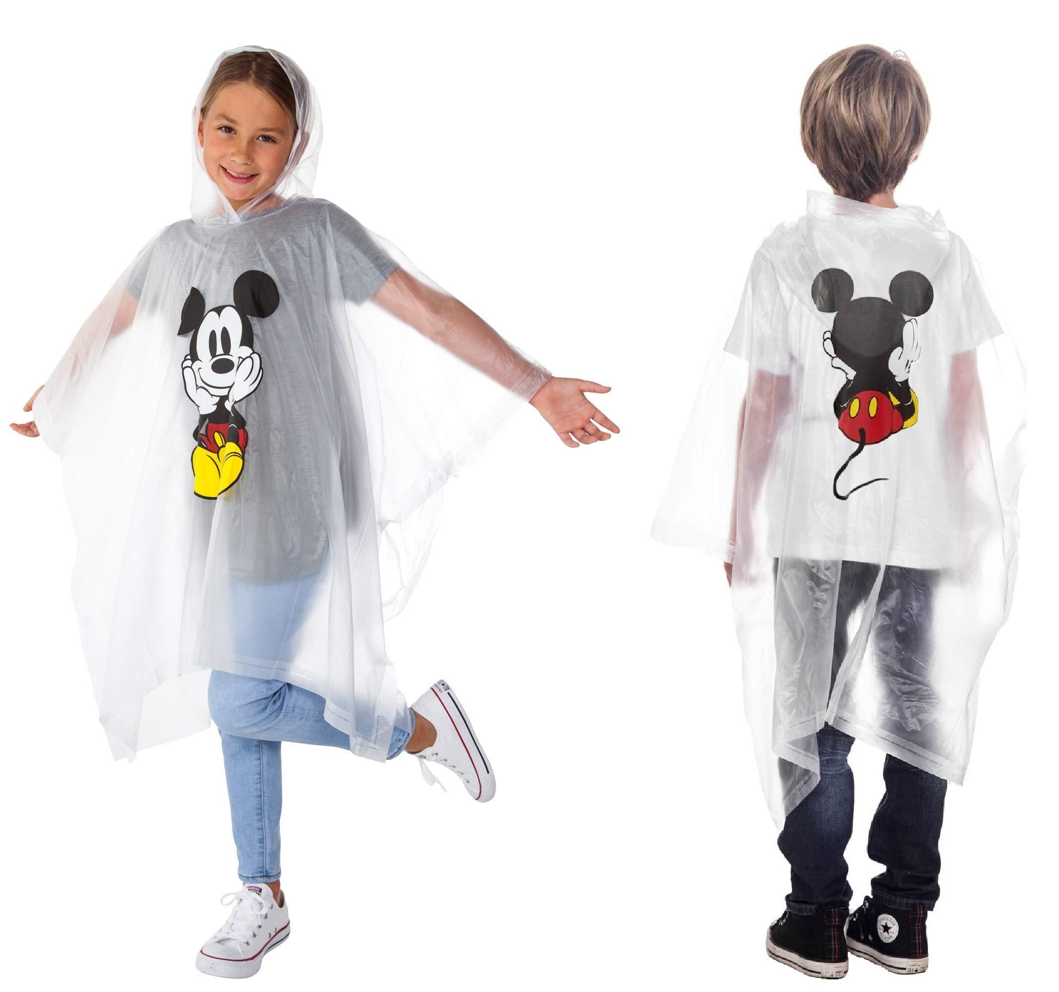 Disney 1 Pack Mickey Poncho Hoodie