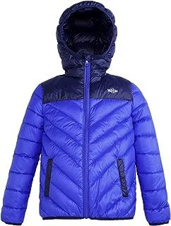 Girls Hood Down Coat Windproof Winter Jacket