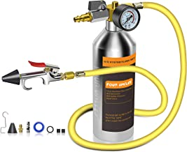 Car AC Leak Test Flashlight UV Protective Glasses FOUR UNCLES Auto Air Conditioner Flashlight Leak Detector Tool