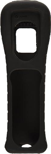 Nintendo Wii Remote Black Jacket Skin Silicone New