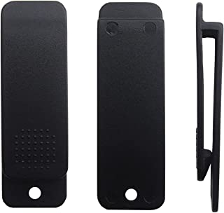 5Afashion Kydex Leather Gun Holster and Sheath Belt Clips,Black Poly Plastic