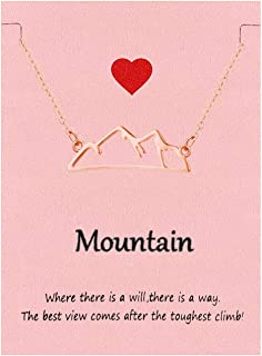 Best mountain top necklace Reviews