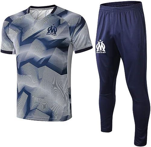 XunZhiYuan T-Shirt et Pantalons pour Hommes - Uniforme de Football Uniforme d'entraîneHommest pour Le Football par équipe