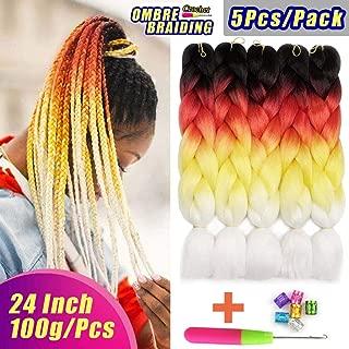 Best hair braiding hair colors Reviews