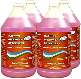 Commercial Industrial Grade Machine Dishwash Detergent-4 gallon case