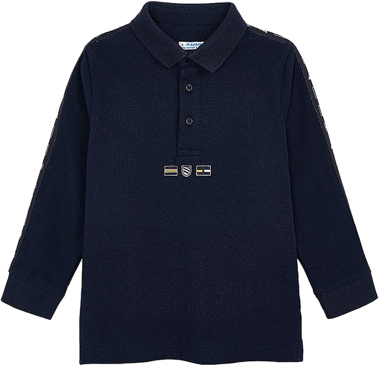 Mayoral - Polo L/s for Boys - 4130, Ocean