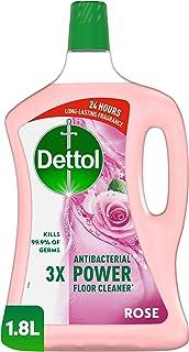 منظف ديتول القوي للأرضيات المضاد للبكتيريا برائحة الورد، 1.8 لتر