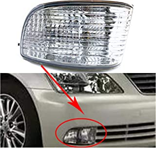 Bruce /& Shark Car Fog Light Lamp Cob Led Lens Angel Eyes Ultra Bright White 3.5Inch High Power