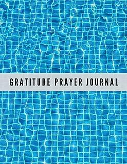 Gratitude Prayer Journal: Blue Mosaic Design Prayer Journal Book With Calendar 2018-2019 : Devotional journey, uplifting prayer , Bible Journaling ... Gratitude Journal Workbook) (Volume 91)