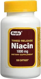 Niacin Time Release 1000mg 100ct