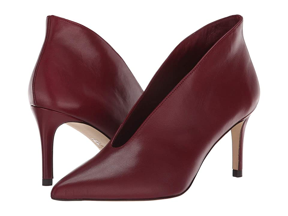 L.K. Bennett Corrina (Black Raspberry Nappa Leather) High Heels