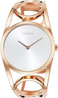 Calvin Klein Women's Digital Quartz Watch with Stainless Steel Strap K5U2M646