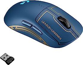 Logitech G PRO Wireless Gaming Mouse - Lightspeed, Hero 25K Sensor, 25,600 DPI, RGB, 4-8 Customizable Buttons, Ambidextrou...