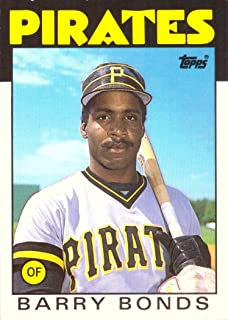 barry bonds topps rookie card 11t