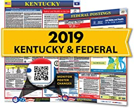 Osha4less Labor Law Poster - State and Federal, Kentucky (KY-CB)
