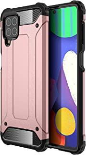 TingYR Case for Samsung Galaxy M62, [Anti-fall] TPU/PC Shockproof Phone Cover, Full Body Protection Cover, Phone Case for ...