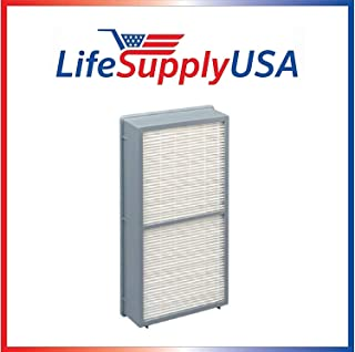 LifeSupplyUSA Air Purifier Filter Compatible with Hunter 30962 Models 30730, 30713 & 30730