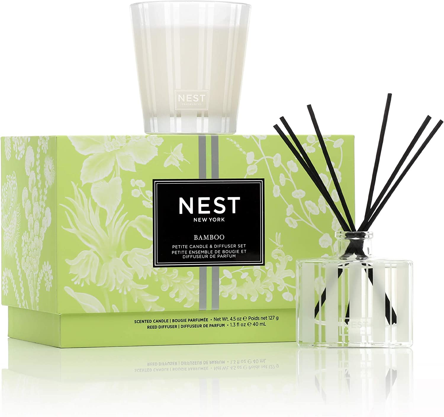 NEST Fragrances Bamboo Petite Candle & Reed Diffuser Set