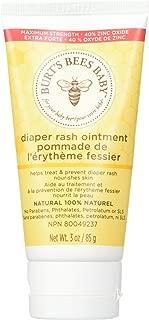 Burt's Bees Baby Diaper Rash Ointment 3 oz (Pack of 3)