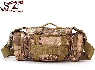 3L Waterproof Nylon Fanny Packs Camera Bag Utility 3P Military Tactical Waist Bags Tactical MOLLE Assault