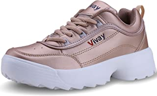 Vivay Womens Running Walking Sneakers Lightweight Air Fitness Workout Athletic Tennis Jogging Shoes