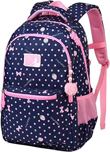 Vbiger Cartables Fille Primaire Sac à Dos Scolaires Filles Sac d'école Enfant pour CE2 CM1 CM2