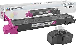 LD Compatible Toner Cartridge Replacement for Kyocera-Mita TK-897M 1T02K0BUS0 (Magenta)