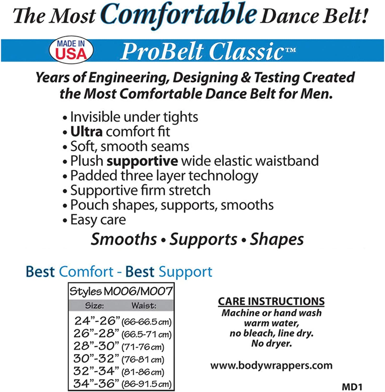"Body Wrappers Men's 2"" ProBELT Classic Dance Belt - M007"