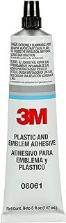 3M 08061 Plastic and Emblem Adhesive Tube - 5 oz.