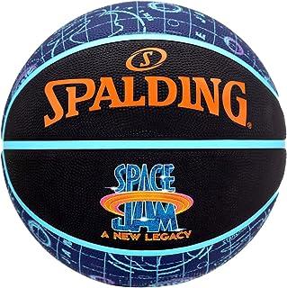 Spalding Space Jam Tune Court Ball 84596Z, Unisex Basketball Ball, Black, 5 EU