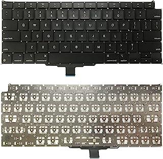WANGZHEXIA Tastiera di Ricambio. Tastiera della Versione degli Stati Uniti per MacBook Air Retina 13.3 M1 A2337 2020 EMC 3...