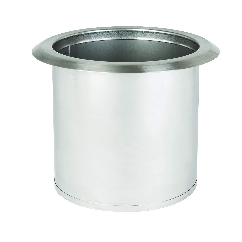 San Jamar L360C Large Stainless Steel Trash Chute 6-3//5 Pack of 2