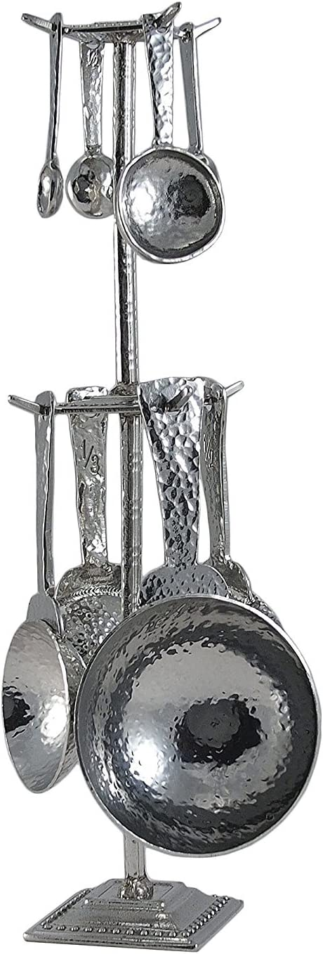 Crosby Taylor Roman Pewter Max 88% OFF Great interest Measuring and Super Cups Spoons Pos