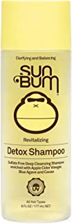 Sun Bum Revitalizing Detox Shampoo | Vegan and Cruelty Free Moisturizing and Deep Cleansing Hair Wash with Apple Cider Vin...