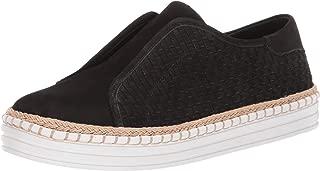 JSlides Women's Kayla Shoe, Black Nubuck, 11 Medium US