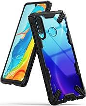 Ringke Fusion-X Diseñado para Funda Huawei P30 Lite Proteccion Absorción de Impacto Funda para Huawei P30 Lite, Funda Huawei Nova 4e - Negro Black
