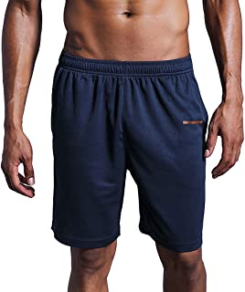 Xiami Leyuan USA Size Mens Workout Gym Running Active Dry Fit Mesh Training Shorts with Pockets