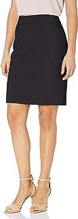 Women's Petite Lux Straight Skirt