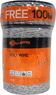 """Gallagher Electric Fence Poly Wire 