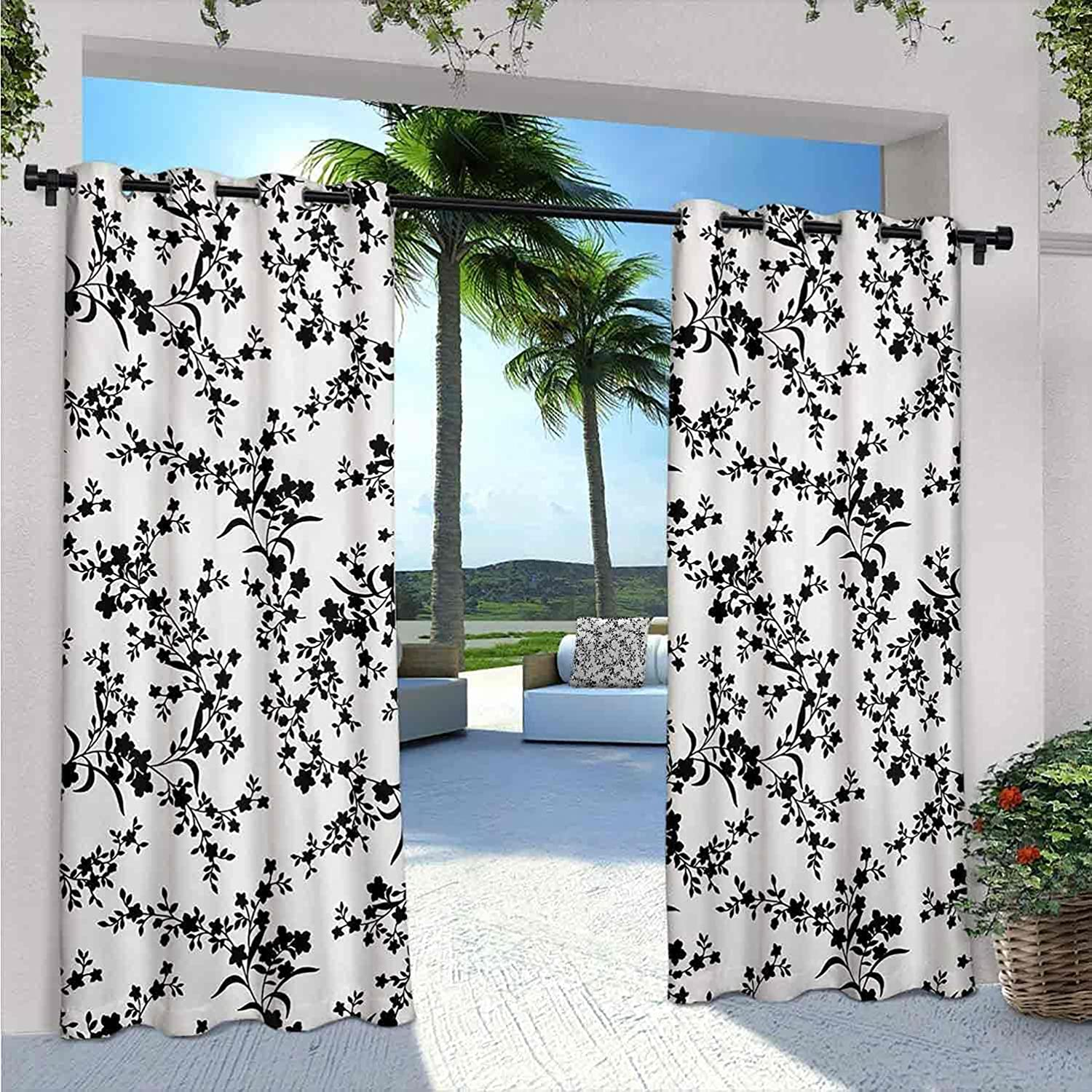 FloraWaterproof Ranking TOP4 Indoor Outdoor Max 83% OFF Curtains Sty Patio for Victorian