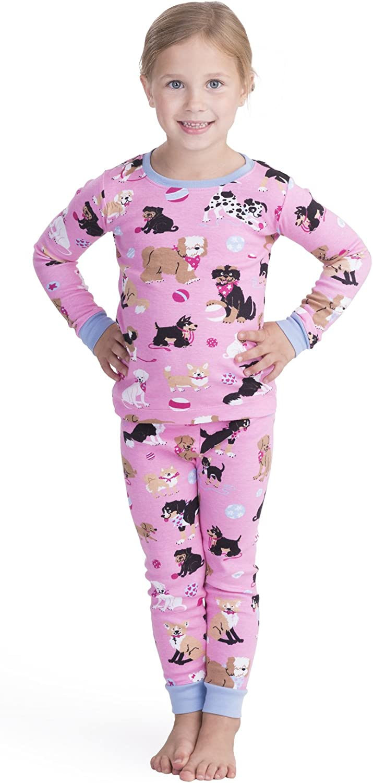 Hatley Girls' Max 75% OFF Organic Cotton Long Brand Cheap Sale Venue Printed Sleeve Sets Pajama