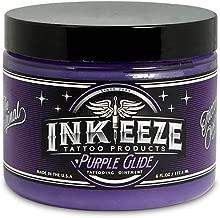 INK-EEZE Purple Glide Non-Petroleum Tattoo Ointment 6oz Jar