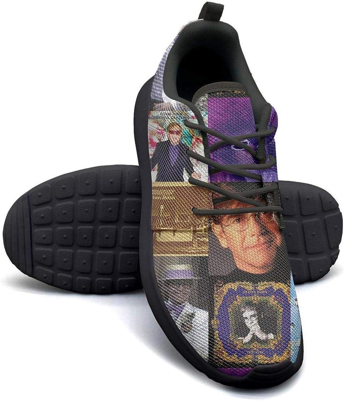 DSICN Women Girls Elton-John's-40-Most-Important-Moments- Tennis shoes Fashion shoes