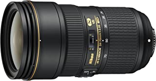 Nikon AF-S FX Nikkor 24-70 mm f/2.8E ED Vibration Reduction Zoom Lens with Auto Focus for Nikon DSLR Cameras (Black)