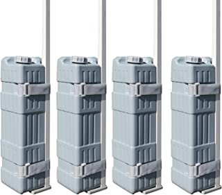 Eurmax Universal Upgraded Water Weight Feet Leg Weights for Pop up Canopies Instant Tents(4 Pcs Weights)