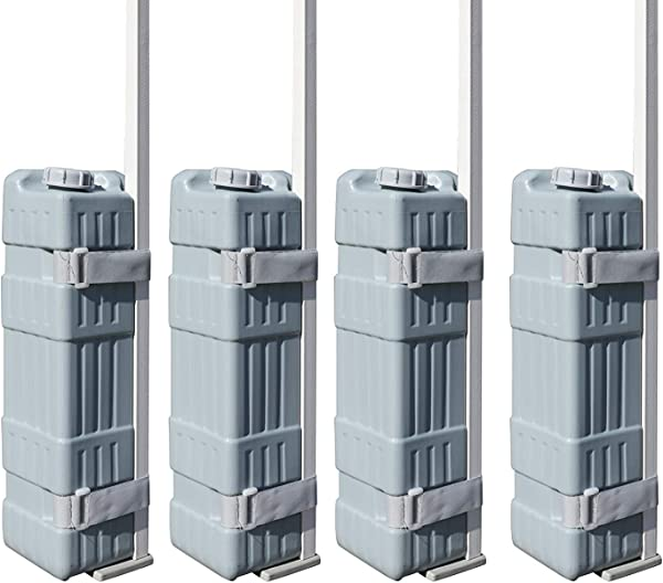 Eurmax Universal Upgraded Water Weight Feet Leg Weights For Pop Up Canopies Instant Tents 4 Pcs Weights