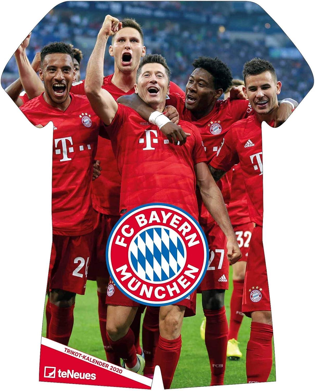 Calendario ufficiale FC Bayern Monaco (Bundesliga) 2020 (Kit a forma di A3)