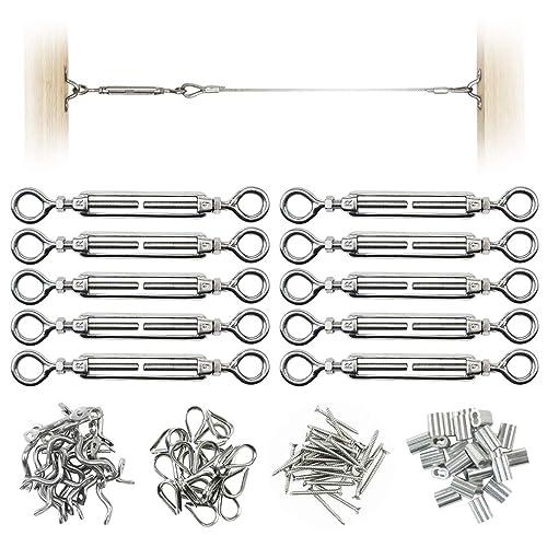 Steel Cable Railing Kit: Amazon com
