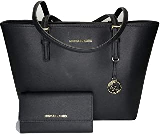 c284bd6b5daa MICHAEL Michael Kors Jet Set Travel MD Carryall Tote bundled with Michael  Kors Jet Set Travel